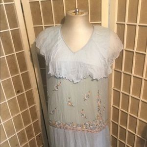 Vintage Silk 1920s Flapper Dress